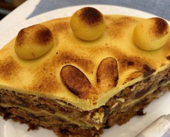 Homemade Simnel Cake