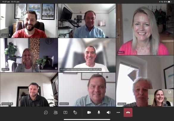 Friends of Friends board meeting